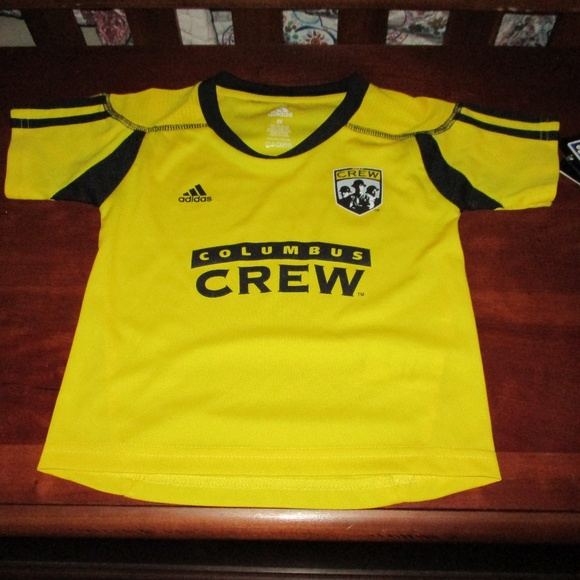 NEW Adidas Kids Soccer Jersey Columbus Crew 2T eb42294d9